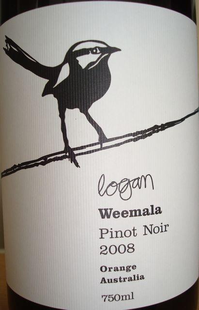 Logan Weemala Pinot Noir 2008