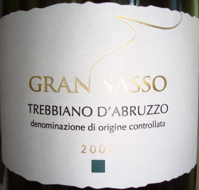 Gran Sasso Trebbiano D'Abruzzo 2007