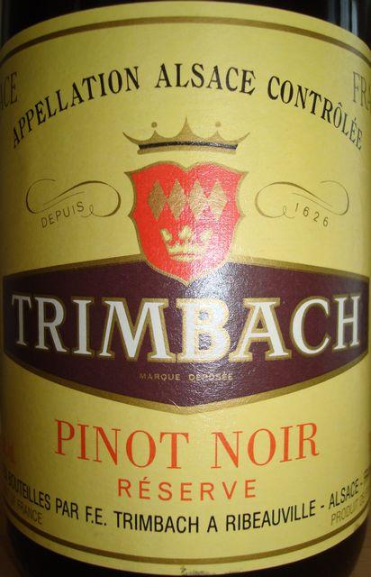 Trimbach Pinot Noir Alsace 1998