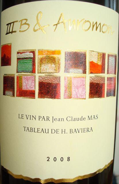 IIIB & Auromon Vin de Pays d'Oc 2008