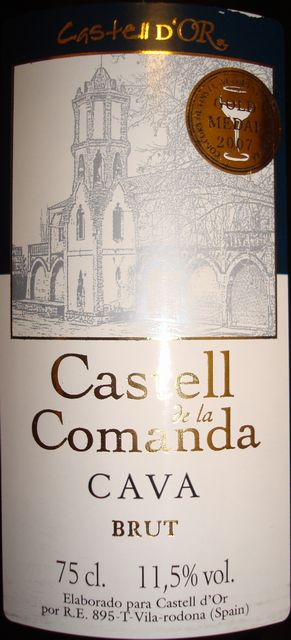 Castell de la Comanda Cava