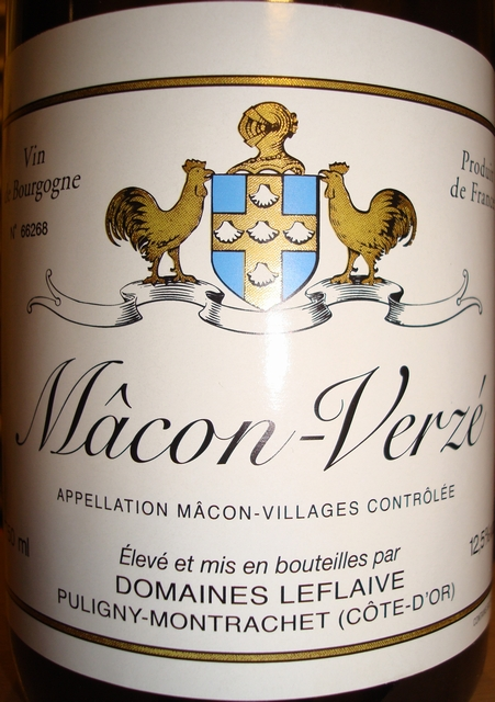 Macon Verze Domaines Leflaive 2008