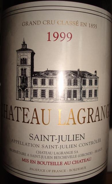 Chateau Lagrange 1999