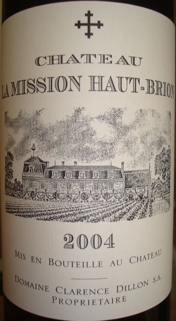 Chateau La Mission Haut Brion 2004
