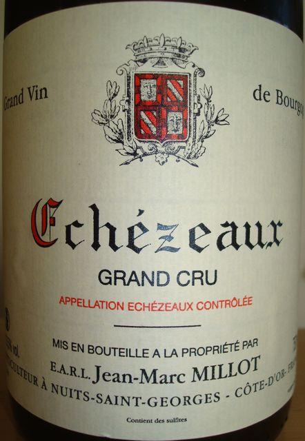 Echezeaux Jean Marc Millot 2007