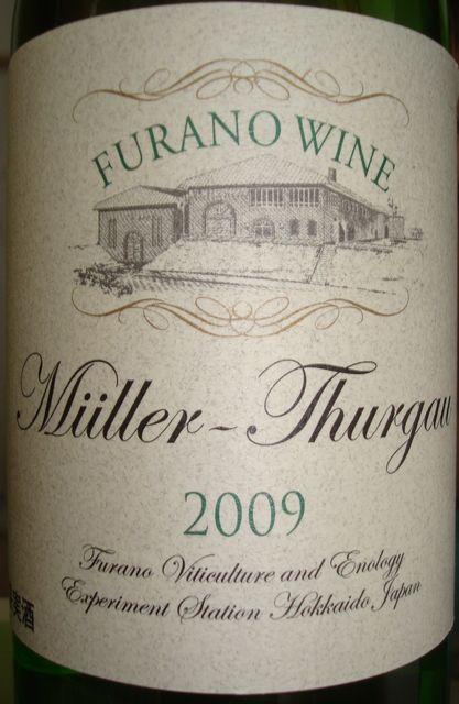 Furano Wine Muller Thurgau 2009