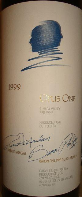 Opus One 1999