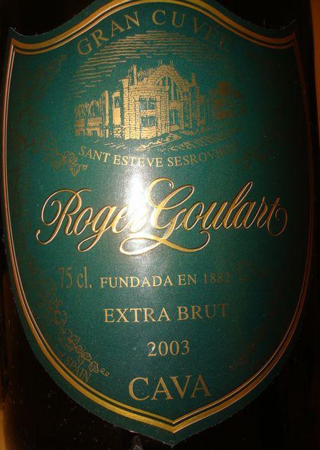 Roger Goulart CAVA Extra Brut 2003