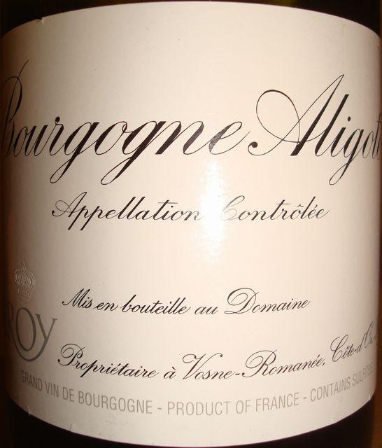 Bourgogne Aligote Leroy 2007.jpg