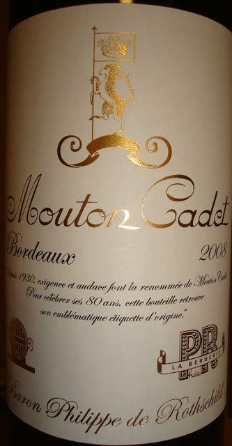 Mouton Cadet 2008