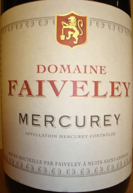 Mercurey Faiveley 2008