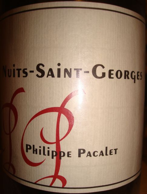 Nuits Saint Georges Philippe Pacalet 2006 Part1