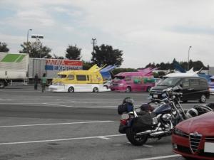 海老名SAの駐車場