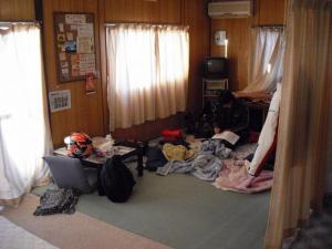 ライダーハウスKENの部屋