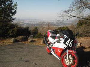 MC22と若草山