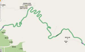 奈良奥山ドライブウェー地図