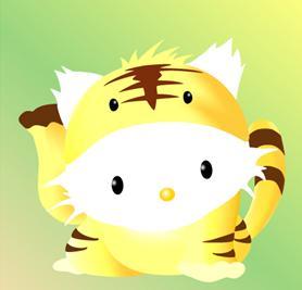 虎キティー