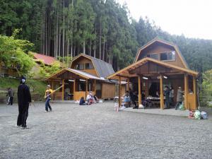 キャンプ 朝の風景
