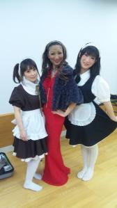 関西チーム3人娘
