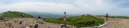 110620焼石山頂