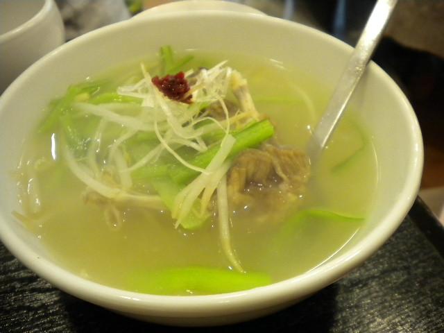 ホルモンX「タン骨スープ」
