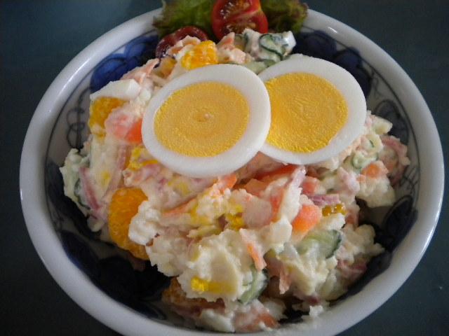 ポテトサラダ(みかん入り)
