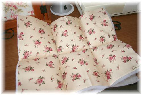 スクエアの猫ベッド作り方①