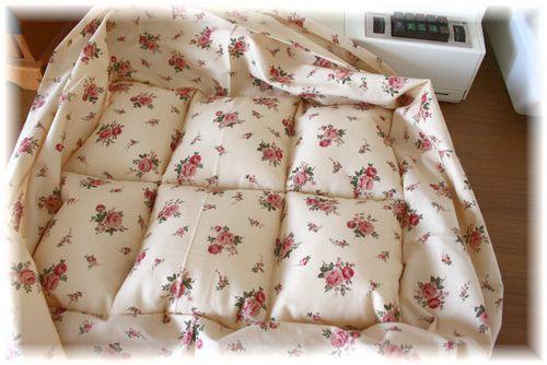 スクエアの猫ベッド作り方③