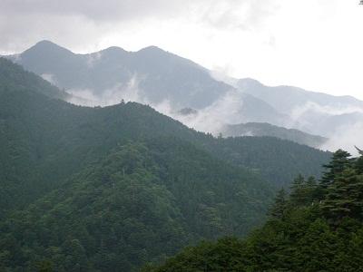 110626北尾根からの丹沢三峰