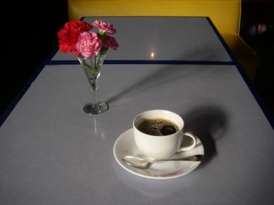 花コーヒー