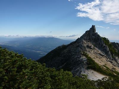 地蔵岳から八ヶ岳