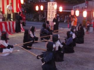 09年8月14日上石塚納涼祭 009