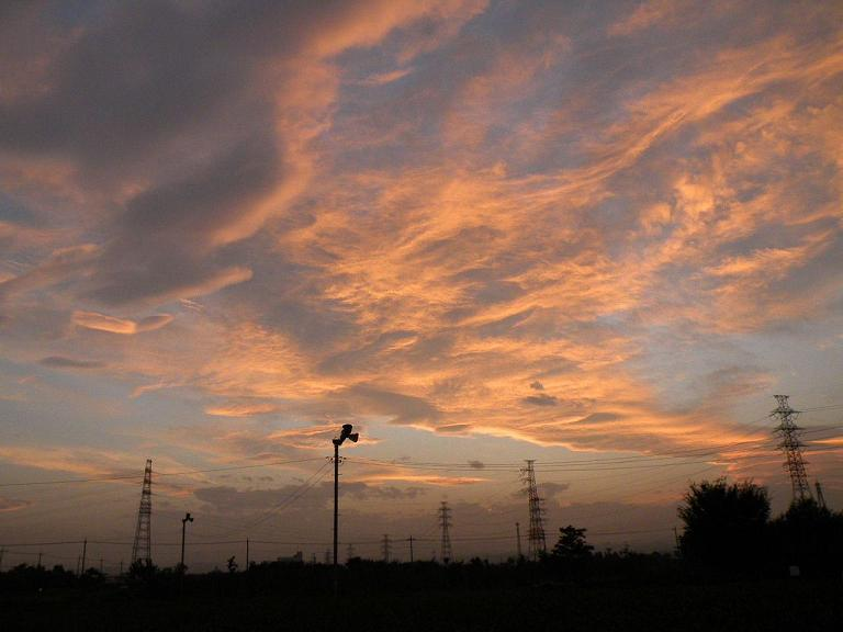2008_0925散歩の途中の夕日0025