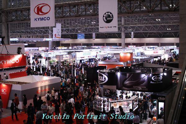 東京モーターショー2009混み具合