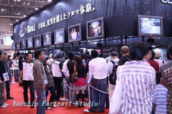 東京モーターショー2009GT体験