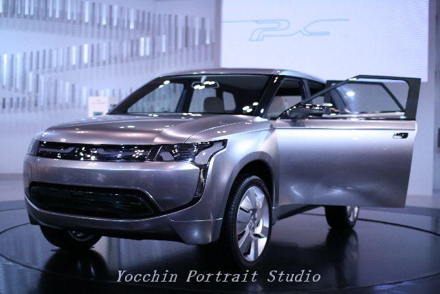 東京モーターショー2009三菱車001