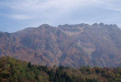 紅葉の八海山