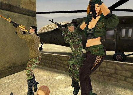 スペシャルフォース MMO オンラインゲーム