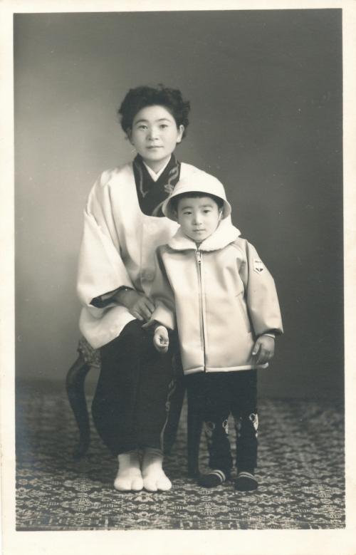 健さんと健さんの母
