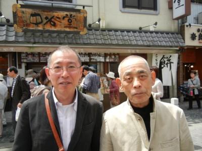 父と健さん
