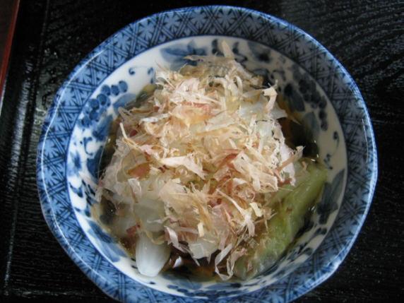 東園白菜浸し091024