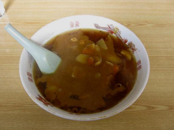 三栄食堂カレー中華091031a
