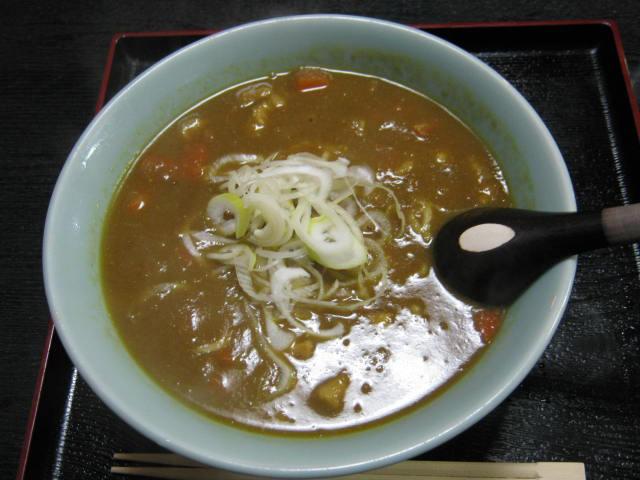 海茶屋カレーらーめん20100123a
