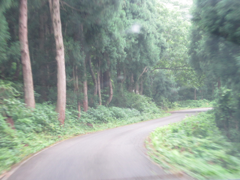 ヒスイ峡へ向かう道4