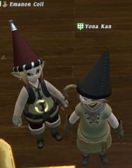 えまのんの帽子