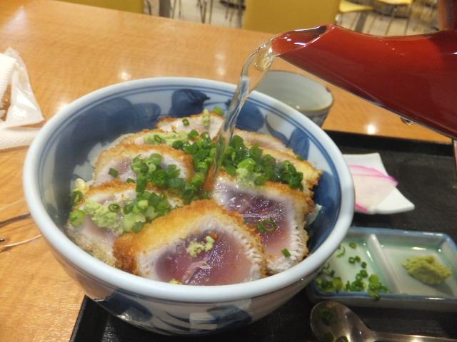 マグロカツ丼セット②