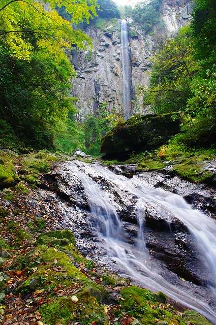東椎屋の滝6