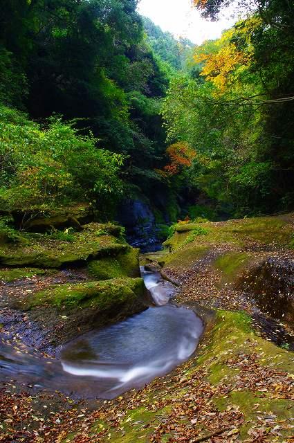 東椎屋の滝7