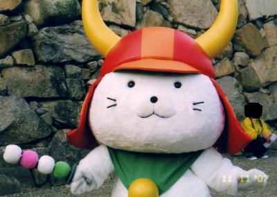彦根城の「ひこにゃん」