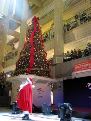 横浜ランドマークタワー クリスマスツリー点灯式